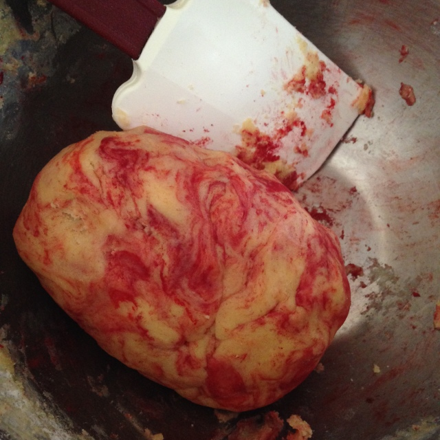 the tell-tale heart dough.